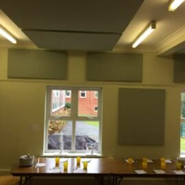 St Andrews wall soundproofing with acoustic panels