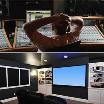 Recording Studio and Home Cinema Soundproofing