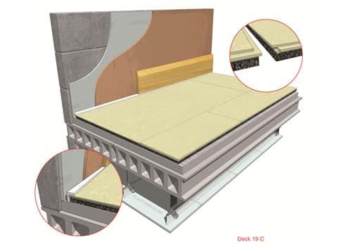 Acoustic Deck 19 for Concrete Floors