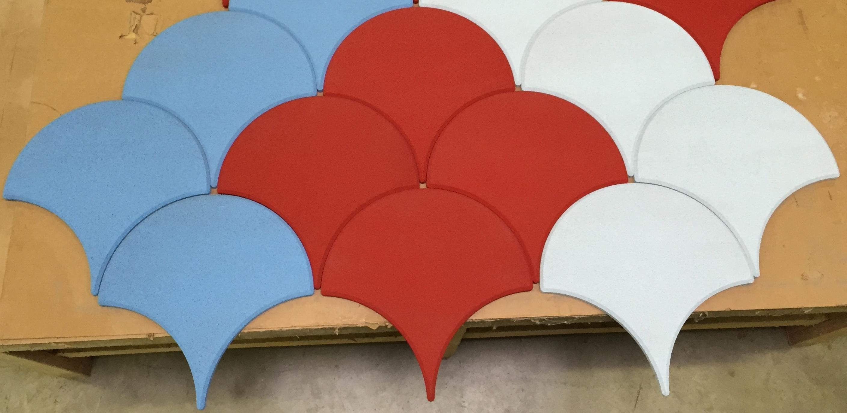 Silent shape. Custom cut shapes.