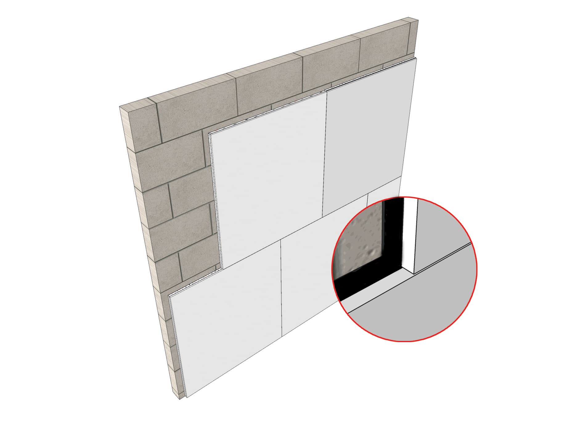 Silent board plus ideal for soundproofing walls
