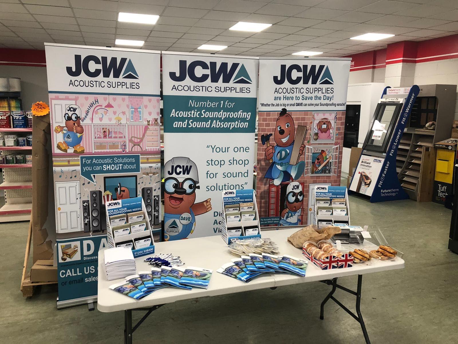 #JCWOnTOur Acoustic Supplies road show