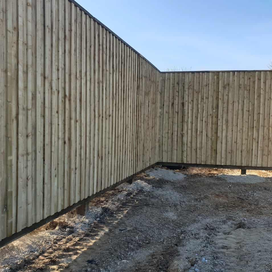 Fencing for Hill House Homes